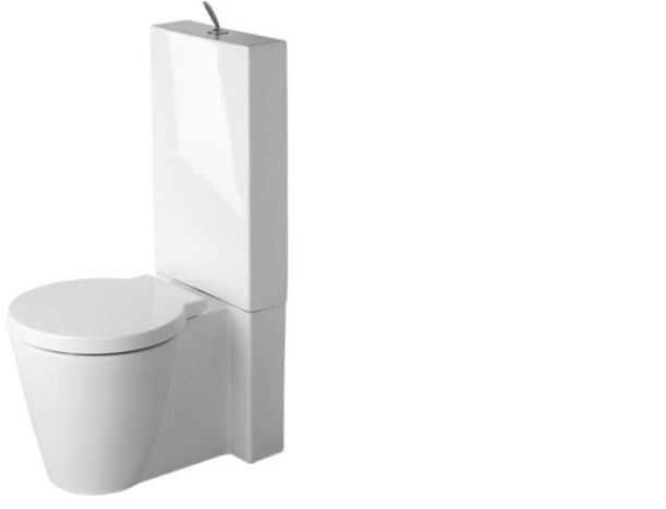 wc onderpot duravit starck 1 wc onderpot u wit 0233090064. Black Bedroom Furniture Sets. Home Design Ideas